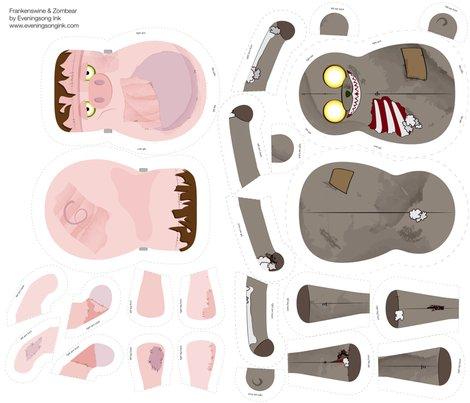 Rrspoonflower_fat_quarter_zombear_frankenswine-01_shop_preview