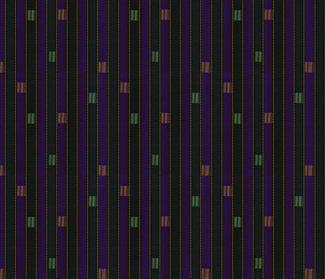 rainbow_weave midnight fabric by glimmericks on Spoonflower - custom fabric