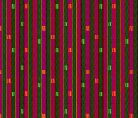 rainbow_weave melon fabric by glimmericks on Spoonflower - custom fabric