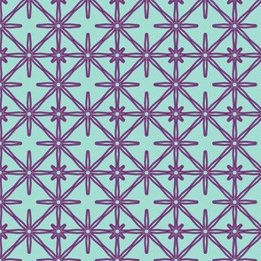 Flower Seeds in Blue and Purple