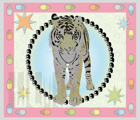 Bollywood_Tiger_42x36in