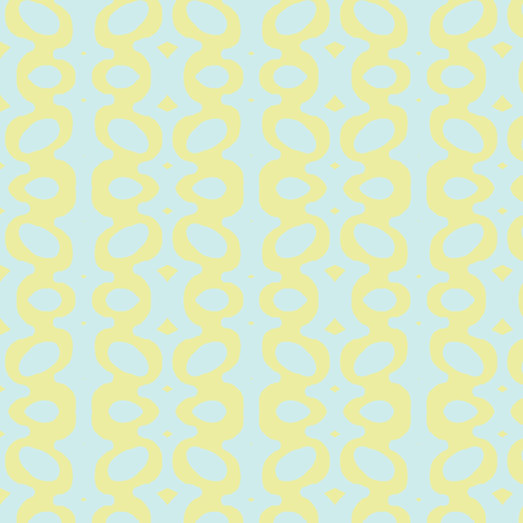 Egg Drop Stripe (Lt. Aqua & Med. Key Lime) fabric by pattyryboltdesigns on Spoonflower - custom fabric