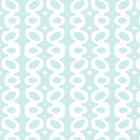 Egg Drop Stripe (Lt. Aqua & white) fabric by pattyryboltdesigns on Spoonflower - custom fabric