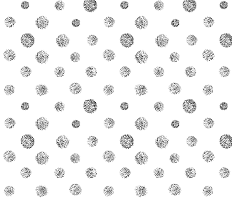 Doodle Puff fabric by helenbrown on Spoonflower - custom fabric
