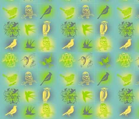 Flight of Fancy fabric by ascphotos&designs on Spoonflower - custom fabric