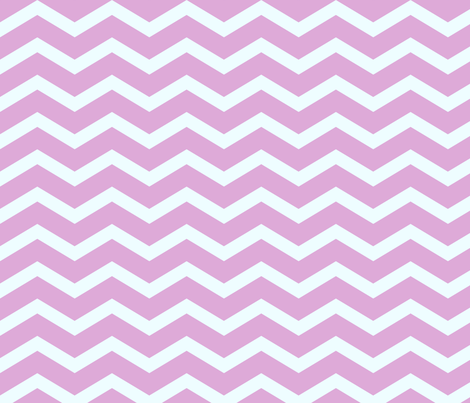 Pink Chevron fabric by peacefuldreams on Spoonflower - custom fabric