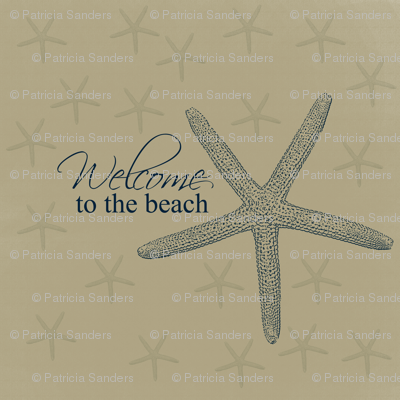 Welcome to the Beach Starfish