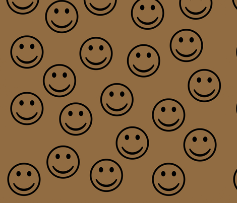 Happy Faces fabric by peacefuldreams on Spoonflower - custom fabric