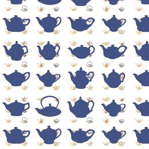 teapot blue repeat