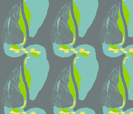 bluegreenyellowgrey fabric by thecreateifs on Spoonflower - custom fabric