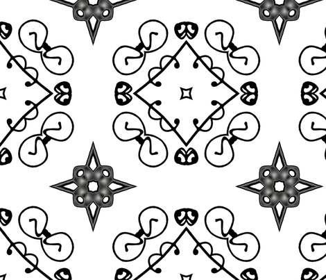 Honored Guest fabric by neonraisin on Spoonflower - custom fabric