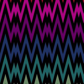 Rainbow Chevron II.