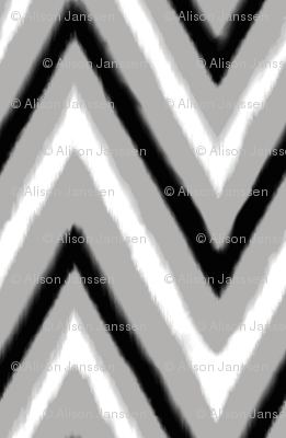 Black & Grey Chevron 3