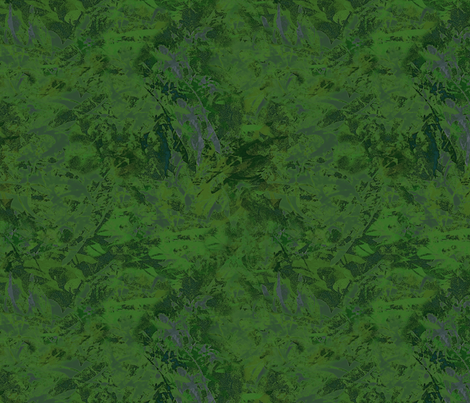 Dark Green Splash fabric by wren_leyland on Spoonflower - custom fabric