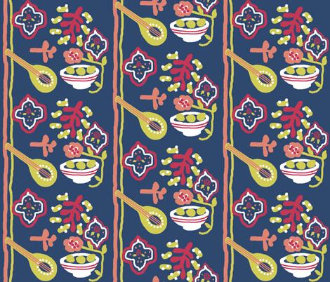 Bowl of lemons fabric by paragonstudios on Spoonflower - custom fabric