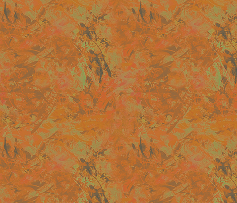 Pumpkin Splash fabric by wren_leyland on Spoonflower - custom fabric
