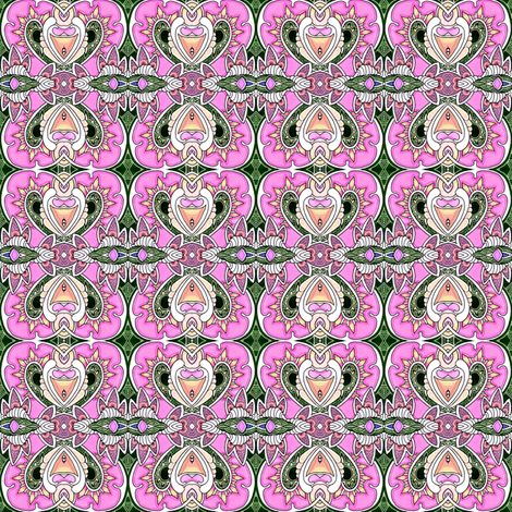 When the Paisley Fairy Comes fabric by edsel2084 on Spoonflower - custom fabric