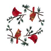 Cardinal Napkins