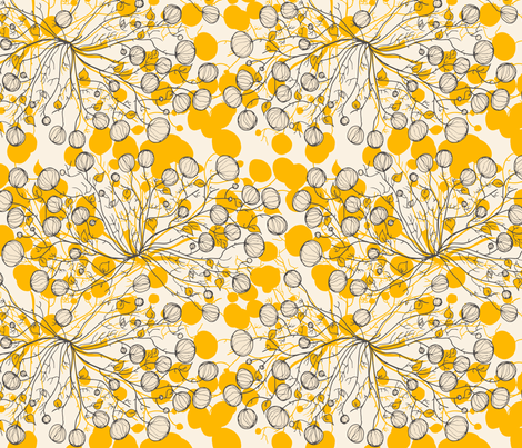 Root Bulb fabric by njeridesigns on Spoonflower - custom fabric