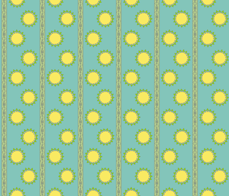 Moonlight stripe fabric by keweenawchris on Spoonflower - custom fabric