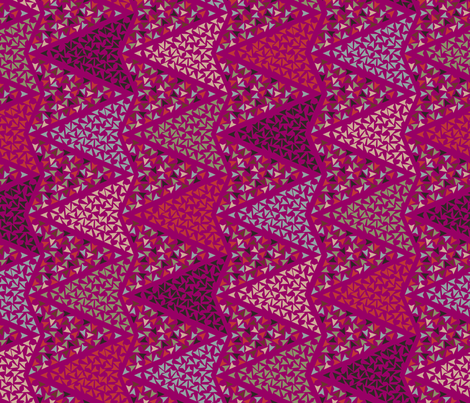 COLOURFUL_ARROWS_pink fabric by leitmotifs on Spoonflower - custom fabric