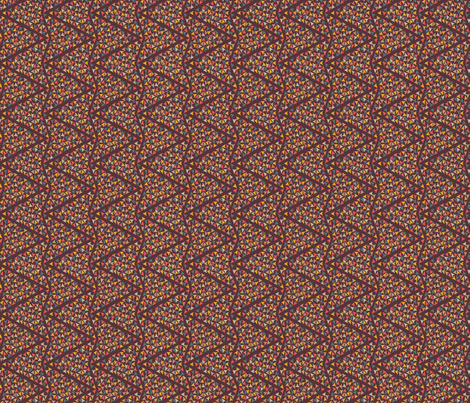 ZIGZAG_COLOURFUL_ARROWS_50_brown fabric by leitmotifs on Spoonflower - custom fabric