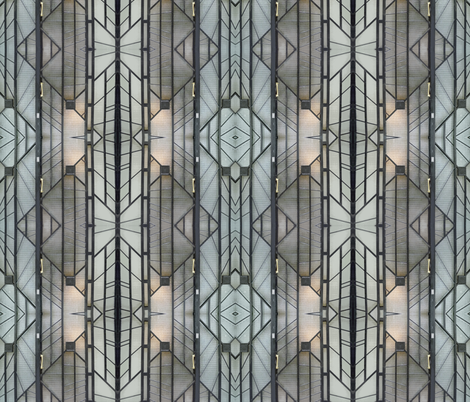 Deco Door, Paris fabric by susaninparis on Spoonflower - custom fabric