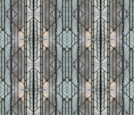 Deco Door, Paris fabric by susaninparis on Spoonflower - custom fabric