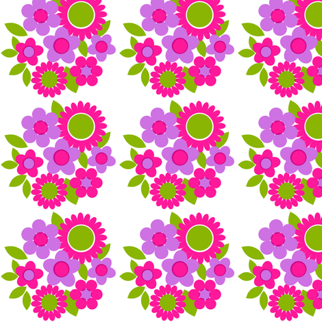 daisy_bouquet fabric by aliceapple on Spoonflower - custom fabric