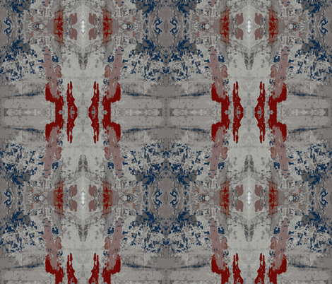 Faded Glory of Pompeii - 1 fabric by susaninparis on Spoonflower - custom fabric