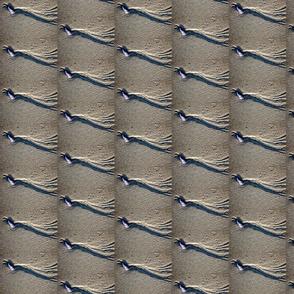 Sand pattern stripe