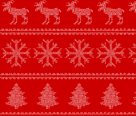 Christmas Print II fabric by european-skies on Spoonflower - custom fabric