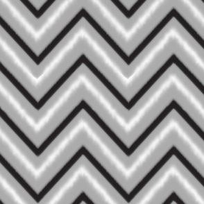 Black & Grey Chevron