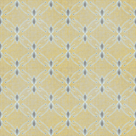 Linen Geo fabric by joanmclemore on Spoonflower - custom fabric