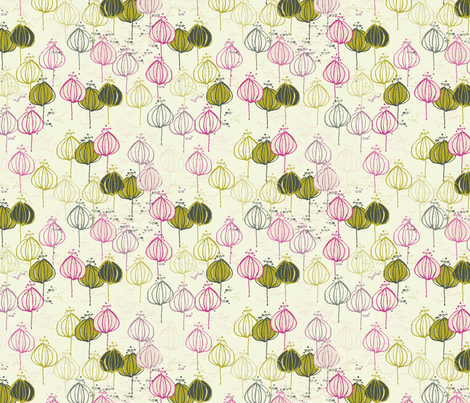 Tres_Amigas fabric by blimblimb on Spoonflower - custom fabric