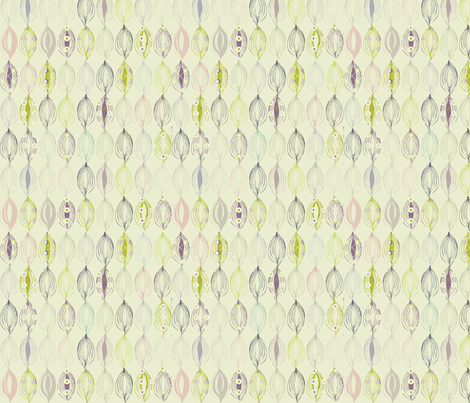 Patterned autumn leaves fabric by blimblimb on Spoonflower - custom fabric