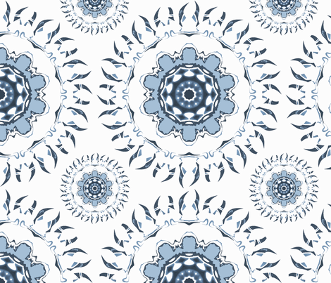 Pool Party fabric by neonraisin on Spoonflower - custom fabric