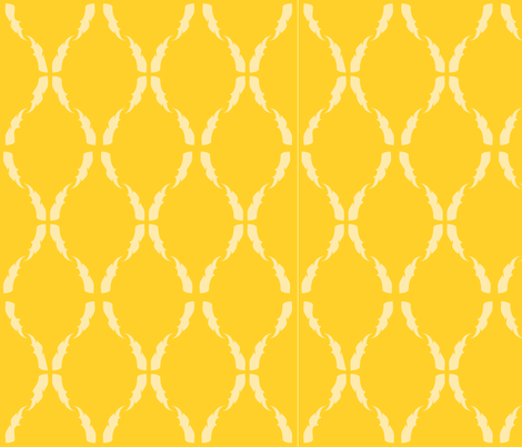 Modern Baroque Gold fabric by gabrielle&amp;grete on Spoonflower - custom fabric