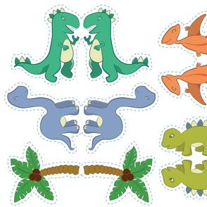 Dinosaur Nursery Mobile Pattern