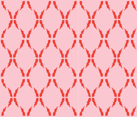 Modern Baroque Fire fabric by gabrielle&grete on Spoonflower - custom fabric