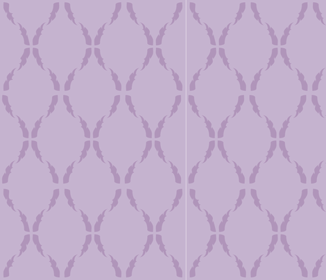 Modern Baroque Violet fabric by gabrielle&grete on Spoonflower - custom fabric