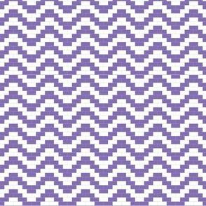 Brick Zigzag - Lavender