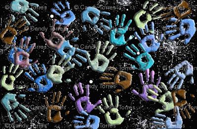 Galaxy Hands