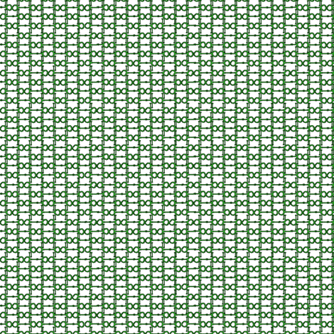 Bitty BIts - green and white  fabric by ragan on Spoonflower - custom fabric