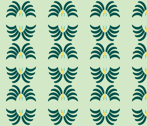 Pineapple fabric by gabrielle&grete on Spoonflower - custom fabric