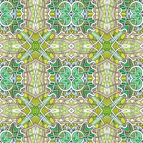 The Last Weekend of August fabric by edsel2084 on Spoonflower - custom fabric