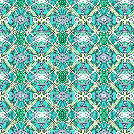 Testing, 1, 2, 3 fabric by edsel2084 on Spoonflower - custom fabric