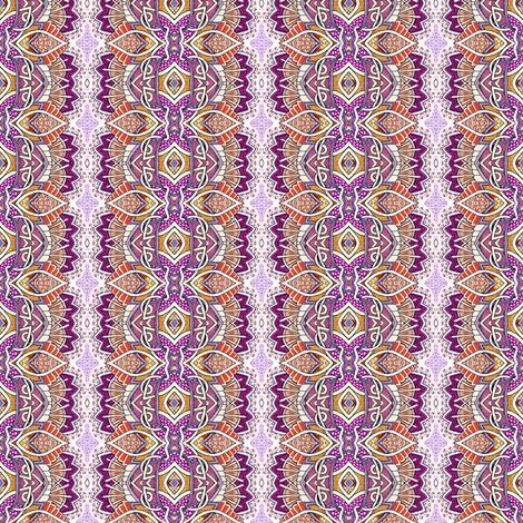 Turkey Trot (vertical stripe) fabric by edsel2084 on Spoonflower - custom fabric