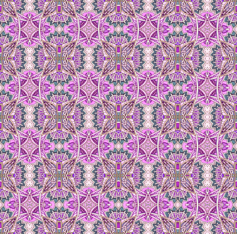 Grapejuice Supernova in the Sky fabric by edsel2084 on Spoonflower - custom fabric