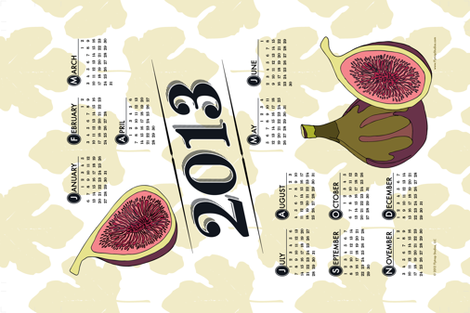 2013 - Year of the Fig! fabric by flytrap on Spoonflower - custom fabric